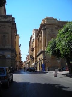 Agrigento - L'inizio della via Atenea - Sicilia nel Mondo archives