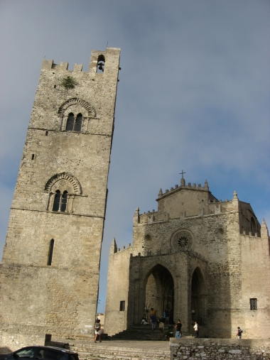 Erice - Cathedral with bell tower - Photo by Chiara Castellani