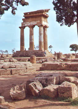 Agrigento - Castore and Polluce temple - Sicilia nel Mondo archives