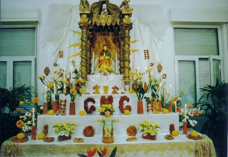 Balestrate - Altare di San Giuseppe -  -