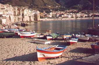 Cefalù - La spiaggia -  - Dall'archivio di Sicilia nel Mondo