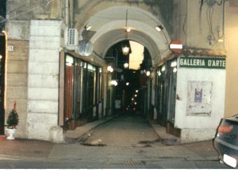 Caltanissetta - Stradina del centro storico -  - Dall'archivio di Sicilia nel Mondo