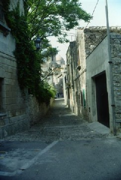 Erice - Foreshortening - Photo by Accursio Castrogiovanni