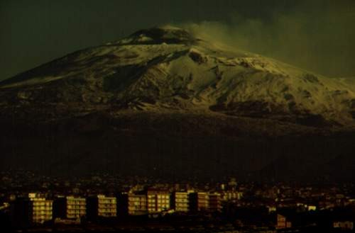 Etna - View from Catania - Photo by Salvatore Messina