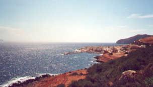 Marettimo - La costa -  -