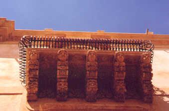 Noto - Balcone -  - Dall'archivio di Sicilia nel Mondo