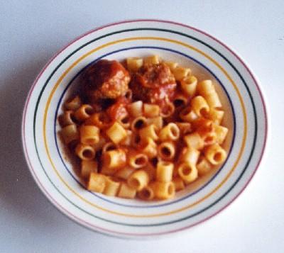Sugo di polpette (di carne o di uova)